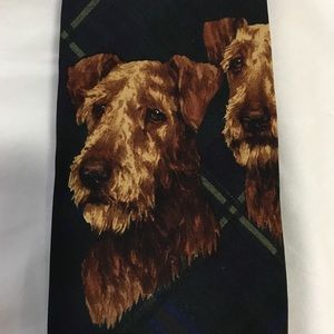 Polo by Ralph Lauren Dog Graphic Tie